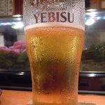錦 - 最後はビールで