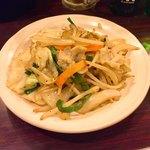 大衆酒場 ふくろ - 肉野菜炒め