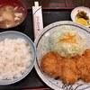 とん平 - 料理写真:ヒレ定食