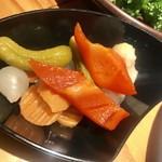 肉バルD.U.M.B.O - ピクルス¥497
