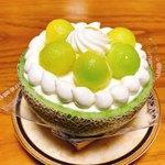 マリア - 料理写真:メロンのショートケーキ