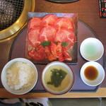 焼肉居酒家 韓の台所 - 選べる2種盛ランチ