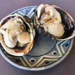 灯台茶屋 - 恋浜定食(焼大あさり)