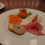 Burassurirurion - 前菜4種 201806