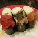 金沢まいもん寿司 - まぐろとろろ、うなとろろ、明太とろろ