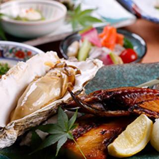 四季折々の北海道食材が満喫できる