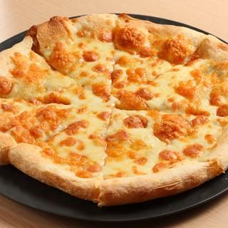 チーズだらけのピザ♪