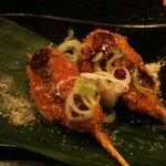 炭焼創作料理 鳥龍 - 串かつ