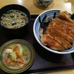 松やん - カツ丼(ソース)