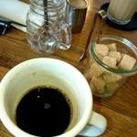 フレックス カフェ - セットのコーヒー(小物たちが可愛いです)