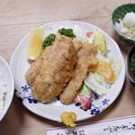 大衆割烹 三州屋 - アジフライ定食
