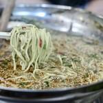 元祖 台湾もつ鍋 仁 - 麺リフト