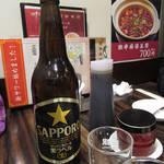 Mimmin - サッポロ生黒ラベル大瓶  \640