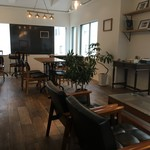 ターミナルカフェ - 2階店内