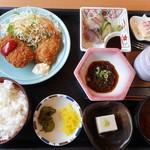 うま吉 - 料理写真:日替り定食 2018.6