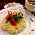 マリーD - 豚肉と夏野菜のカレー