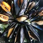 ourbs - ムール貝の白ワイン蒸し