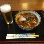 由良里の湯 - 料理写真:夜飯なのでガッツリ肉にした(・ω・)