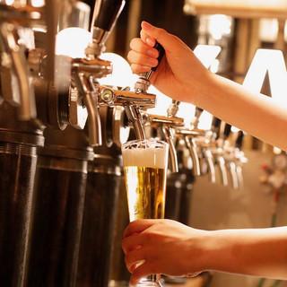 常時12種☆豊富なクラフトビール