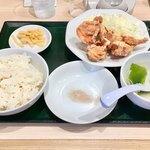 東秀 - からあげ定食(4個)