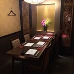 銀熊茶寮 - テーブル個室