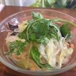 Sukhontha Cafe - ランチのサラダ
