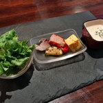 オステリア・ミラ - ランチの前菜盛り合わせ