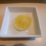 文明堂 カフェ - レモンティーにしました