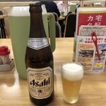 87269125 - びんビール(中瓶)♪