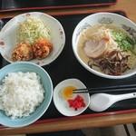 豊福亭 - ラーメンセットB 600円
