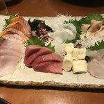 みなと寿司 - 刺身盛合せ