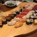 みなと寿司 - 寿司盛合せ