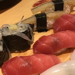 みなと寿司 - 寿司盛合せアップ