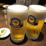 焼鳥 Ryoma - メガ生ビール