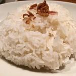 アジアンビストロDai - ライスは長粒米
