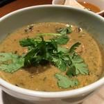 アジアンビストロDai - 鶏肉と茄子のグリーンカレー