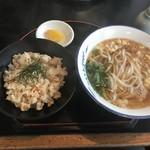 手打うどん葵 - 料理写真:五目ごはん定食
