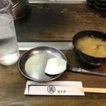 87273986 - お味噌汁とコテ