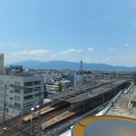 87274306 - お店からの眺め 近鉄大和八木駅