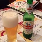 JAGA - キングフィッシャーというインドビール