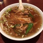 北京飯店 - ザーサイ麺  ¥840