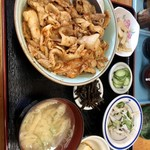 食彩処 夢一文 - 料理写真:★豚キムチ丼 ¥570★