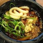 丸亀製麺 - 釜揚げうどんは、だしに天かすとねぎをいれて食べると…、実にこれが旨い(2018.06.08)