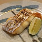 日本橋蛎殻町 すぎた - 太刀魚の塩焼き