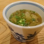 はらぺ子 - キャベツのお味噌汁(*^^*)