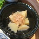 やさい家めい - 筍と新ジャガイモの土佐煮