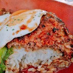 Hawaiian Dining HuLa・La - ライス、オンザ、ハンバーグ