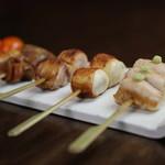 酉こう - 料理写真:京赤地鶏焼鳥
