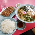 北京 - 「ギョウザ・ラーメン定食 (1140円)」