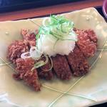 米貞 - モモ肉のチキンカツ美味しい!